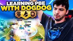 LEARNING PBE WITH DOGDOG!   TFT   Teamfight Tactics Galaxies