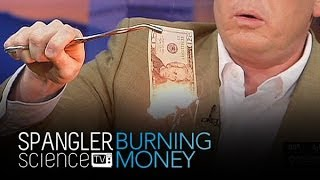 Burning Money - Cool Science Experiment