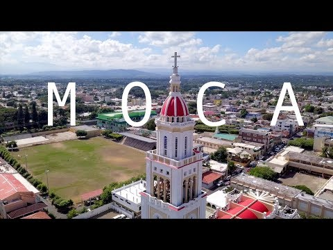 SANTO DOMINGO TO  MOCA , Dominican Republic part 1 VLOG DJI MAVIC PRO DRONE 4k !
