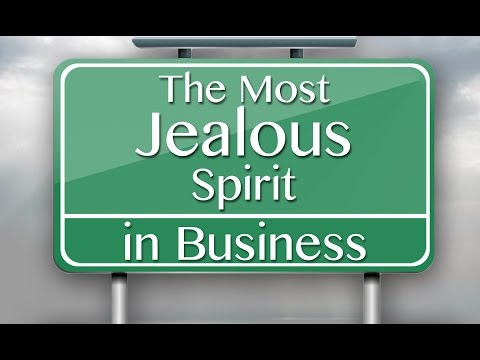 The Most Jealous Spirit in Business - Patrick Bet-David