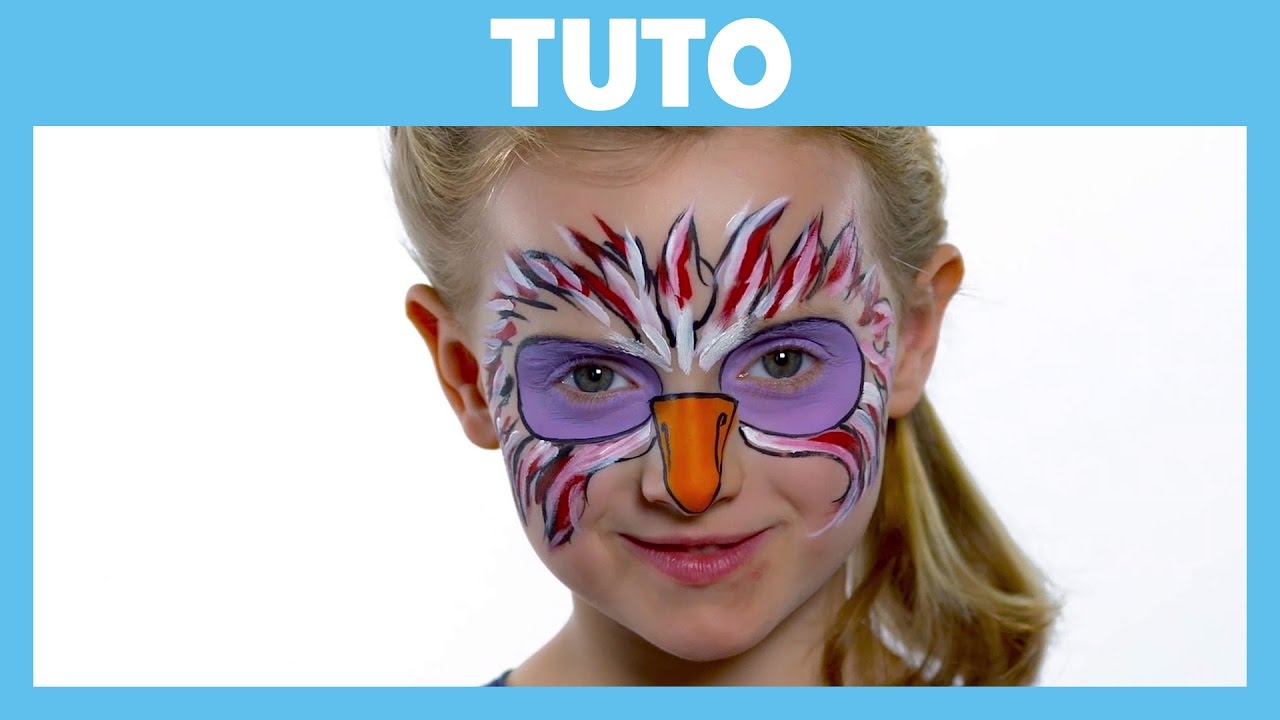 Super La Garde du Roi Lion - Tuto : Maquillage de Ono - YouTube PZ03