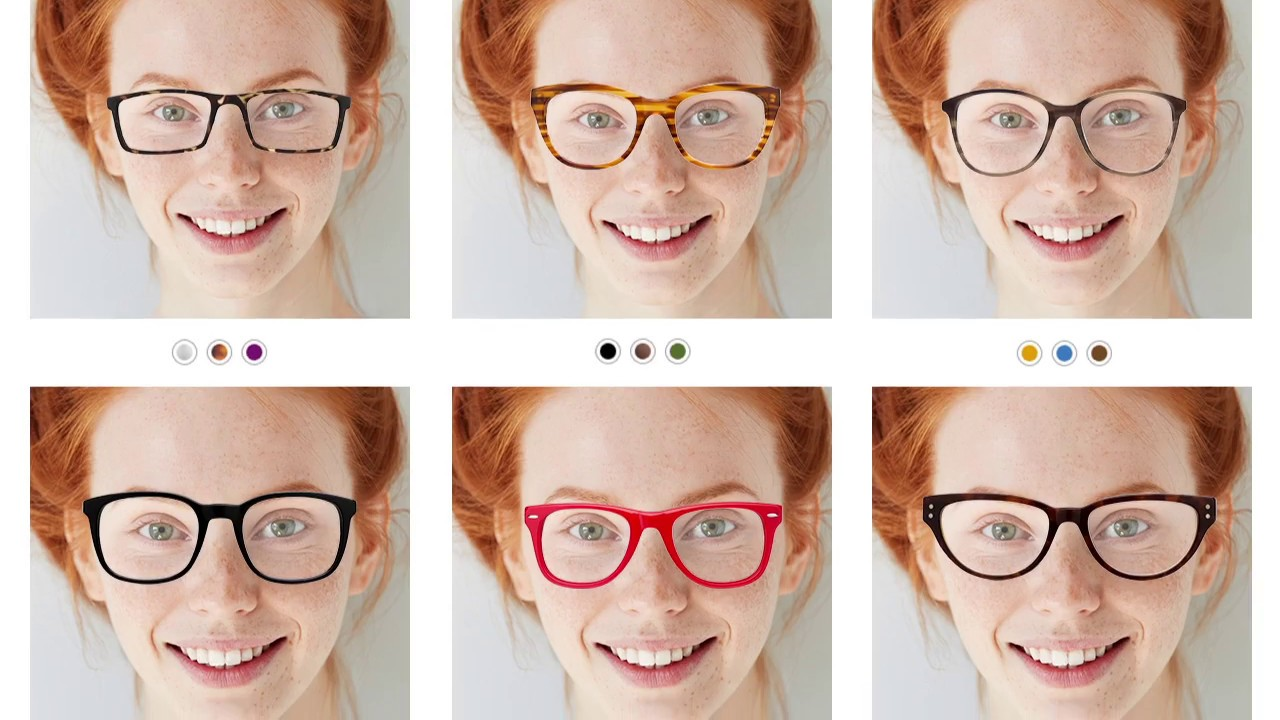 How to try glasses online at GlassesUSA.com - YouTube 7a0222ae2ba4