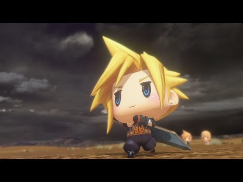World of Final Fantasy: Cloud Champion Summon (1080p 60fps)