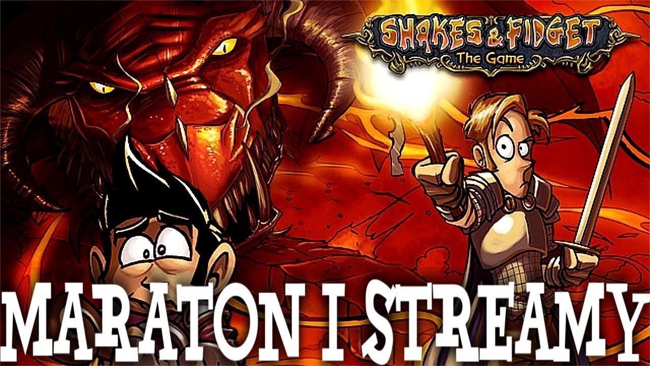 ZACZYNA SIĘ! MARATON + STREAMY! – Shakes & Fidget #10