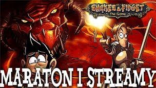 ZACZYNA SIĘ! MARATON + STREAMY! - Shakes & Fidget #10