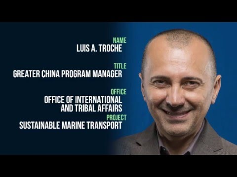 In One Take: Sustainable Marine Transport Luis Troche