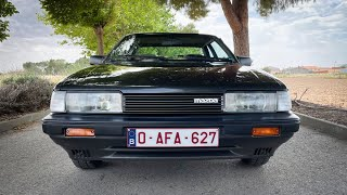 1987 Mazda 626 Coupé - walkaround and POV drive