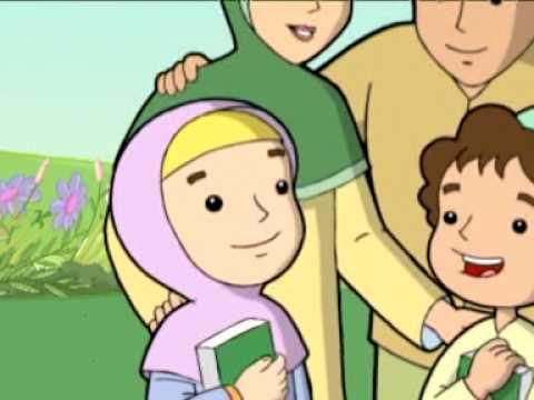 Nasyid Anak Islam Bunda Ajariku Quran Mother Teach Me About Quran Youtube