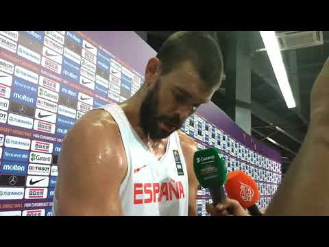 Mark Gasol after defeat from Slovenia #EuroBasket2017 semifinals