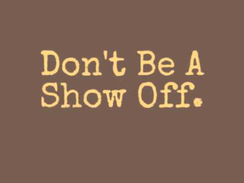 Image result for Show off