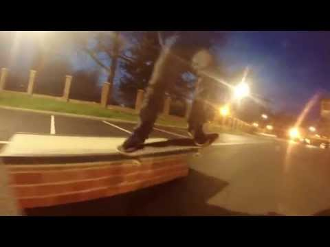Milk Skateshop Skateboarding Box Session