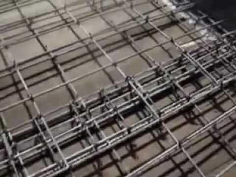 Armado con varilla para colado de losa de concreto 01 for Losa techo