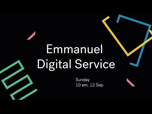 Emmanuel Live Cover Image