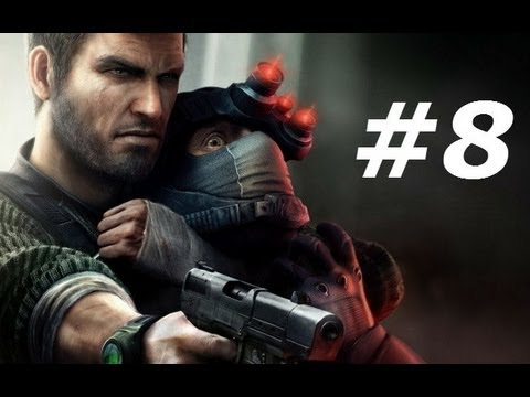 Splinter Cell Conviction Gameplay Walkthrough Part 8-Third Echelon