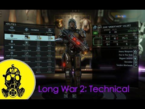 Xcom 2 Long War 2 Technical Class Build