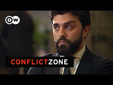 Italian MEP from far right League abruptly walks out of interview | DW Conflict Zone