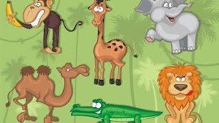 Развивающие уроки и мультфильмы для детей. Животные