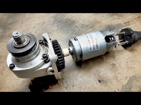 Useful Grinder Hack!!! Blender Motor To Grinder! - Taşlamaya Blender Motoru Taktım!