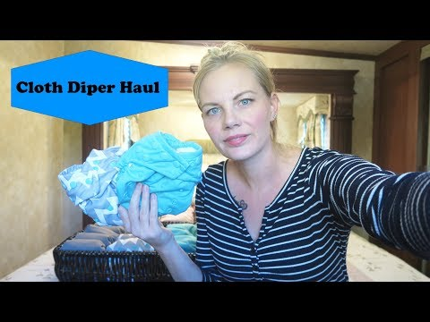 Cloth Diaper Haul/Stash -  Two in Diapers