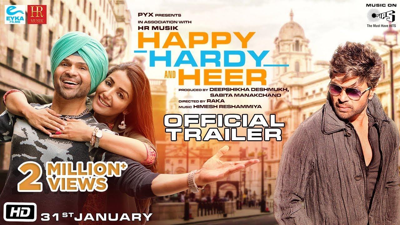 Bollywood Download - Happy Hardy And Heer | Himesh R, Sonia M | Raka | Deepshikha D | 31st Jan. 2020