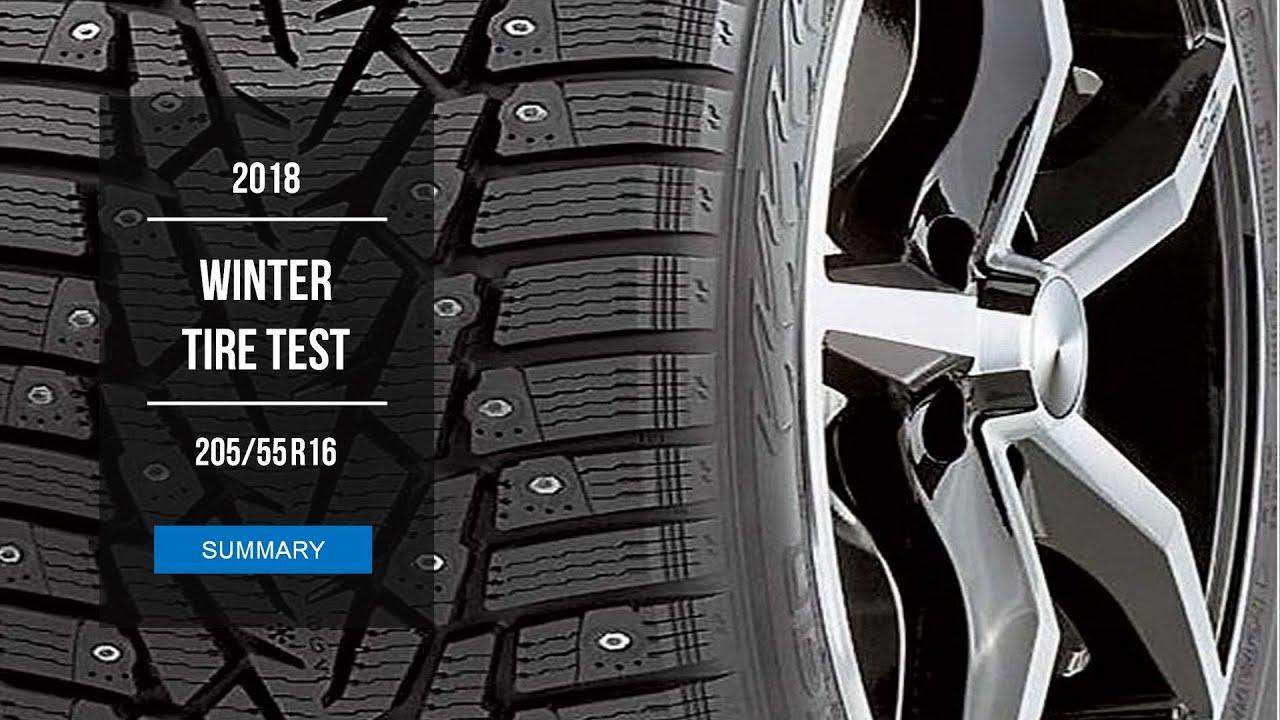 2018 winter tire test results 205 55 r16 studded youtube. Black Bedroom Furniture Sets. Home Design Ideas