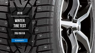 2018 Winter Tire Test Results | 205/55 R16 | Studded