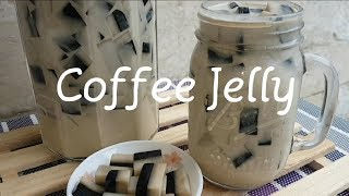 How to make Coffee Jelly | Layered Jelly