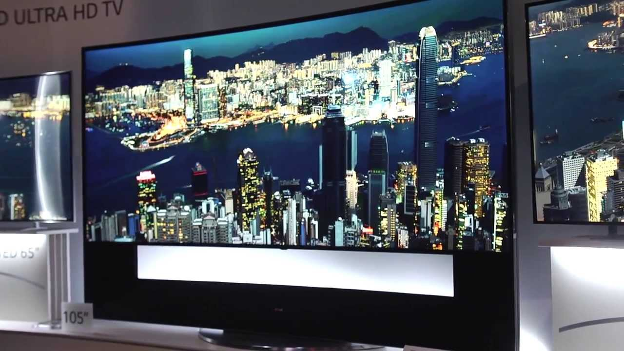 ces 2014 77 inch flexible oled tv 105 inch 21 9 curved tv webos and more from lg youtube. Black Bedroom Furniture Sets. Home Design Ideas