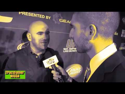 Dana White takes Floyds side and RANTS about Larry Merchant