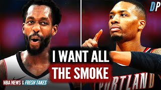 Paul George, Patrick Beverly Beef With Damian Lillard And AD Comes Up Short