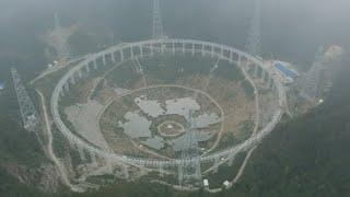 異星人の探索に使用される世界最大の電波望遠鏡が今年9月に完成予定(中国)