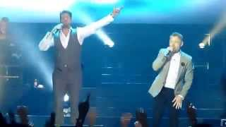 Boyzone - Love Me For a Reason + Life Is a Rollercoaster (Live in Jakarta, 22 May 2015)