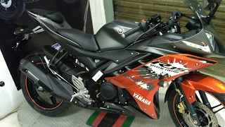 Yamaha R15 V2 2017 SPECIAL EDITON ABS physical overview, Walkaround and changes made