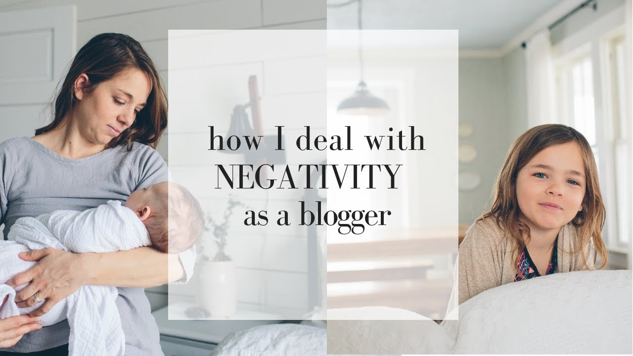 How to Deal with Negativity Blogging