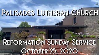 PLC Reformation Sunday Service 10.25.20
