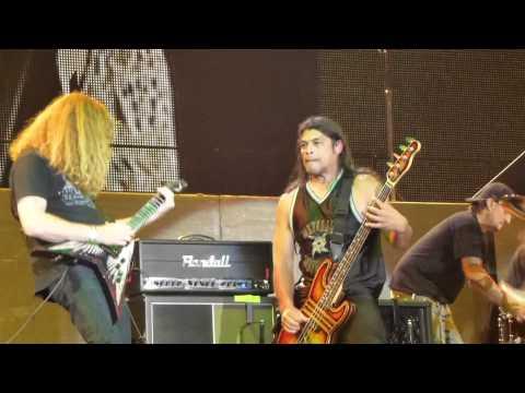 """Metallica, Anthrax, Megadeth,Slayer """"Die,die my darling"""", Big 4, Milan 06.07.2011"""