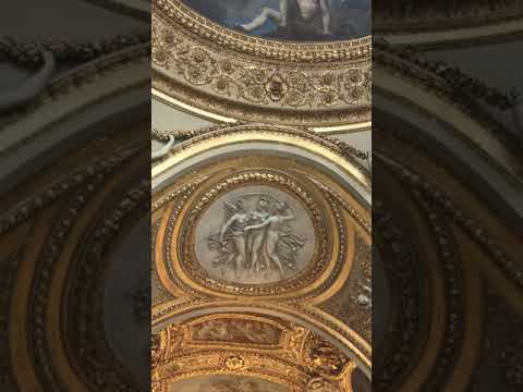 The ceiling at #Louvre #Greek #antiquity
