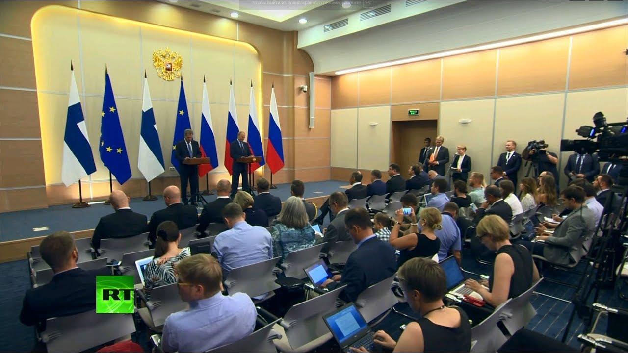 Заявление президентов России и Финляндии по итогам встречи