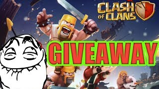 My Clash of Clans Stream+ GIVEAWAY !