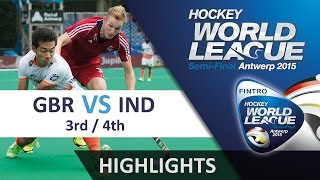 Great Britain v India Match Highlights - Antwerp Men