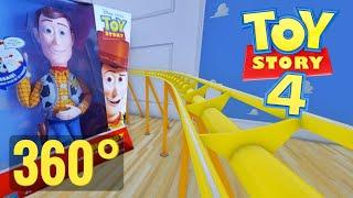 [360 VR Video] Disney Pixar Toy Story 4 Roller Coaster 360° Google Daydream PSVR