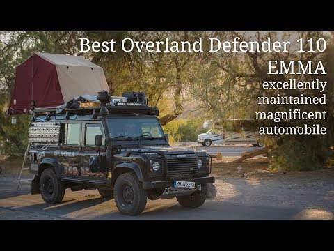 Emma - Best Overland Land Rover Defender 110 - Walkaround Tour
