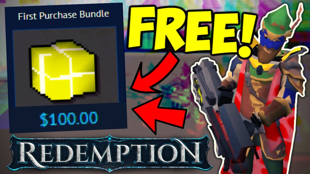 *2 ULTRA RARES!!* Loot From 100 Mr X Kills! (FREE $100 BUNDLE FOR THE NEW PLAYERS) - Redemption RSPS