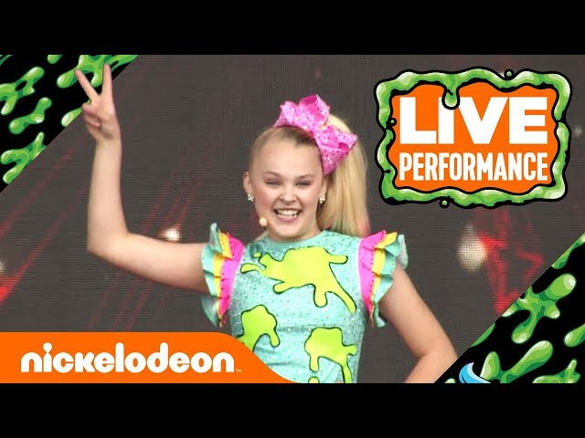 JoJo Siwa Performs 'Kid in a Candy Store' | SlimeFest 🎀  | Nick