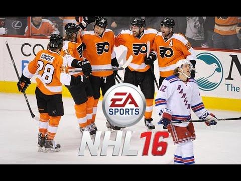 NHL 16  - September 26th Stream: Flyers Vs. Rangers