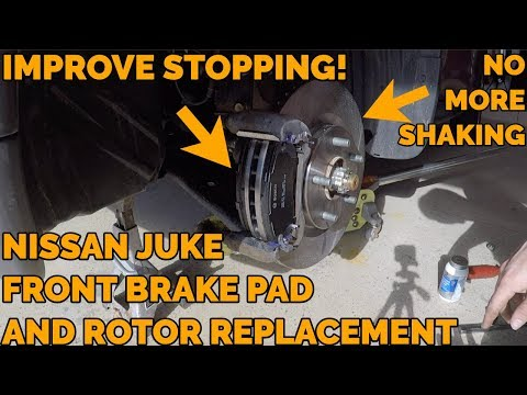 Nissan Juke Brake Pads and Rotor Replacement – 2011-2017 – How To