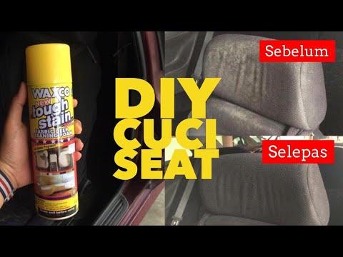 DIY CAR SEAT CLEANING / Cuci Kusyen Kereta by REDZABONG