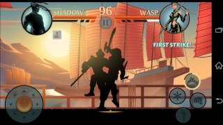 SHADOW FIGHT 2 INTERLUDE: CHINESE SABRES TUTORIAL (Wasp battle)