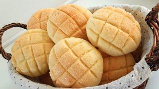 Tradicional Pão De Melão Japonês
