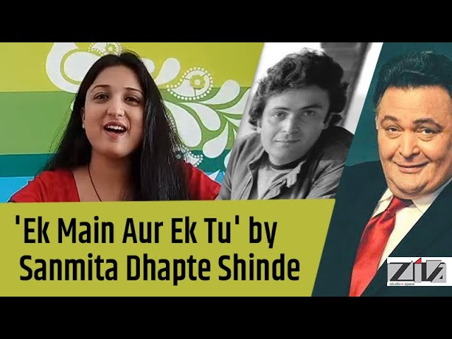 Ek Main Aur Ek Tu by Sanmita Dhapte Shinde | Tribute to Rishi Kapoor | Khel Khel Mein